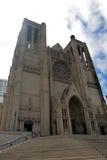 Imagen común de Grace Cathedral, San Francisco, los E.E.U.U. Foto de archivo libre de regalías