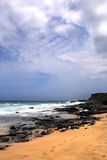 Imagen común de la bahía de Maunalua, Oahu, Hawaii imagenes de archivo