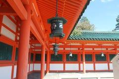 Imagen común de la capilla de Heian, Kyoto, Japón Imágenes de archivo libres de regalías