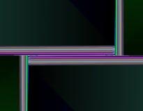 Imagen común de la geometría del fractal Foto de archivo