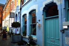 Imagen común de la vieja arquitectura en Nottingham, Inglaterra Imagen de archivo libre de regalías
