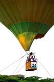 Imagen común de los globos coloridos del aire caliente Imagen de archivo