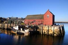 Imagen común de Rockport, Massachusetts Imagen de archivo