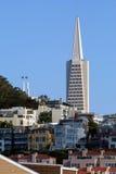 Imagen común de San Francisco, los E.E.U.U. fotografía de archivo libre de regalías