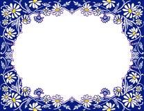 Imagen común del bastidor de las margaritas Fotografía de archivo