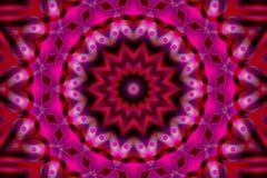 Imagen común del caleidoscopio abstracto Fotos de archivo