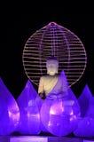 Imagen común del gigante Buda en Malasia fotos de archivo