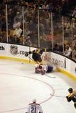 Imagen común del juego del hockey sobre hielo Fotos de archivo