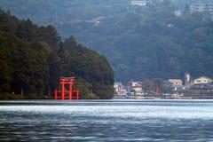 Imagen común del lago Hakone, Japón Fotos de archivo