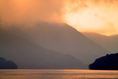 Imagen común del lago Hakone, Japón Foto de archivo libre de regalías