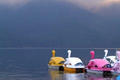 Imagen común del lago Hakone, Japón Fotografía de archivo libre de regalías