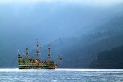 Imagen común del lago Hakone, Japón Imagen de archivo libre de regalías