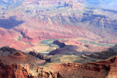Imagen común del parque nacional de Grand Canyon, los E.E.U.U. Imagen de archivo