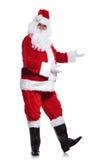 Imagen completa del cuerpo de la presentación de Papá Noel Imagen de archivo libre de regalías