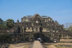 Imagen completa del palacio de Phimeanakas Fotografía de archivo