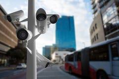 Imagen compuesta de la cámara CCTV libre illustration