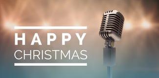 Imagen compuesta de la feliz Navidad Fotografía de archivo libre de regalías