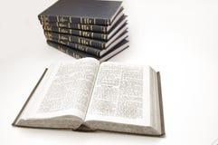 Imagen conceptual de la biblia. Fotos de archivo