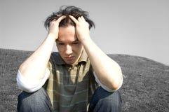 Imagen conceptual de la emoción. Imagen de archivo libre de regalías