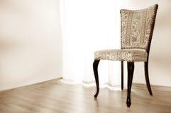 Imagen conceptual de la silla. Foto de archivo