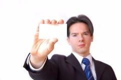 Imagen conceptual de la tarjeta de visita. Imágenes de archivo libres de regalías