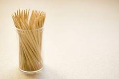 Imagen conceptual de los Toothpicks. Foto de archivo libre de regalías