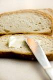 Imagen conceptual de pan y de la mantequilla. Fotos de archivo