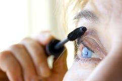 Imagen conceptual del maquillaje. Imágenes de archivo libres de regalías