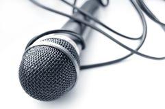 Imagen conceptual del micrófono. Fotografía de archivo libre de regalías