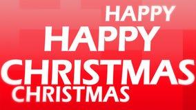 Imagen creativa de la feliz Navidad Foto de archivo libre de regalías