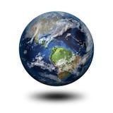 imagen 3D de la tierra del planeta Fotografía de archivo libre de regalías