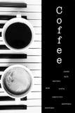 Café de consumición Fotos de archivo libres de regalías