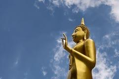 Imagen de Buda con el cielo Imagen de archivo