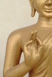 Imagen de Buda de la adoración Fotos de archivo libres de regalías
