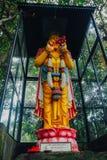 Imagen de Buda de la estatua de Buda usada como amuletos de la religión del budismo Fotografía de archivo