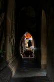 Imagen de Buda del templo de Htilominlo, Bagan, Myanmar Fotos de archivo libres de regalías