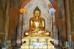 Imagen de Buda del templo de Htilominlo, Bagan, Myanmar Imagen de archivo libre de regalías