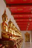 Imagen de Buda en Wat Pho imagen de archivo libre de regalías