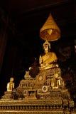 Imagen de Buda (Phra Buda Deva Patimakorn) en Wat Pho imagen de archivo libre de regalías