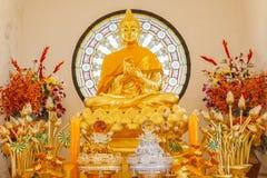Imagen de Buda, templo de Phasornkaew Imagenes de archivo