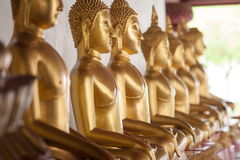 Imagen de Buddha en templo Fotografía de archivo libre de regalías