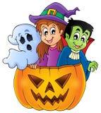 Imagen de carácter de Halloween 4 Imagenes de archivo