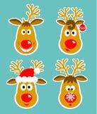 Imagen de ciervos alegres Imagen de archivo libre de regalías