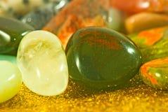 imagen de diverso primer colorido de las piedras Imagenes de archivo