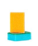 Imagen de esponjas coloreadas imagen de archivo libre de regalías