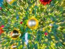 Imagen de falta de definición de la luz de la explosión del enfoque Fotografía de archivo libre de regalías