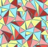 Imagen de fondo abstracta con los triángulos Imagen de archivo