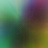 Imagen de fondo colorida abstracta con una capa hexagonal torcida de la rejilla fotos de archivo