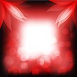Loto rojo abstracto Stock de ilustración