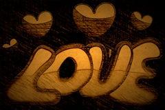 Imagen de fondo con los corazones Imagen de archivo libre de regalías